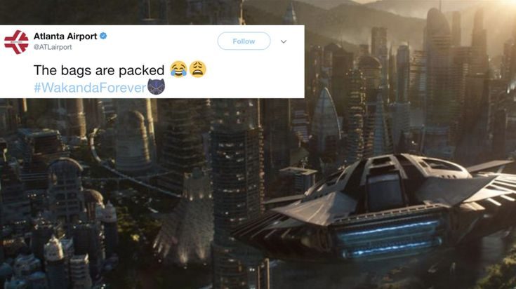 ICYMI: Atlanta Airport Teases 'Black Panther' Fans With Flights To Wakanda