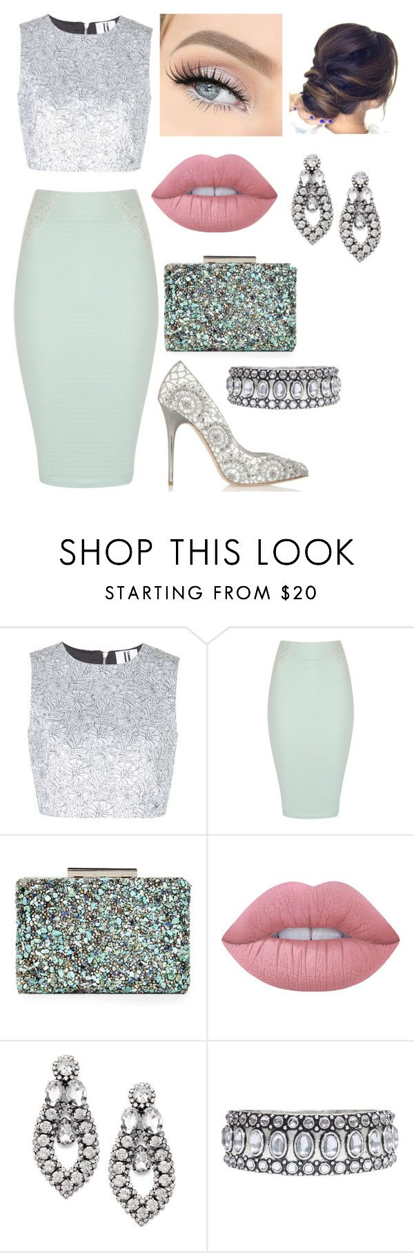 """Vestuário de dia-a-dia 169"" by joana-baptista18 ❤ liked on Polyvore featuring Unique, Jane Norman, Lime Crime, Alexander McQueen, Bar III and Towne & Reese"