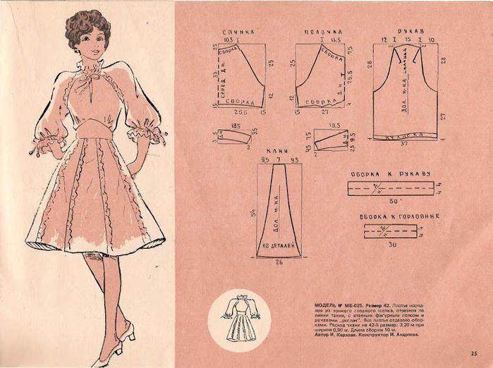 советские выкройки женской одежды: 19 тыс изображений найдено в Яндекс.Картинках