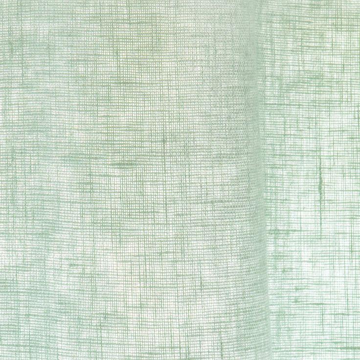 light green washed linen eyelet curtain x cm maisons du monde with lit sherazade maison du monde. Black Bedroom Furniture Sets. Home Design Ideas