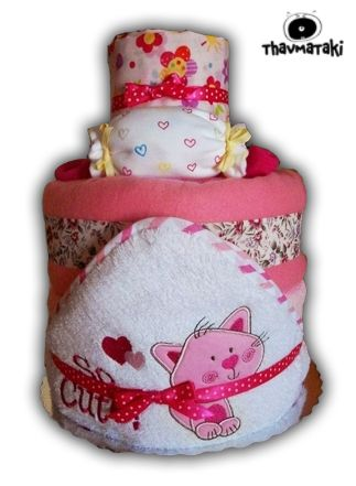 http://thavmataki.gr/custom-order.html So cute thavmataki, με περίπου 50 πάνες εσωτερικά, κουβερτάκι και σεντονάκι, μπουρνουζοπετσέτα, φορμάκια και καλτσάκια. Τιμή 55€