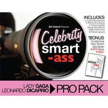 Celebrity Smart Ass Bundle (Lady Gaga & Leonardo DiCaprio) by Bill Abbott