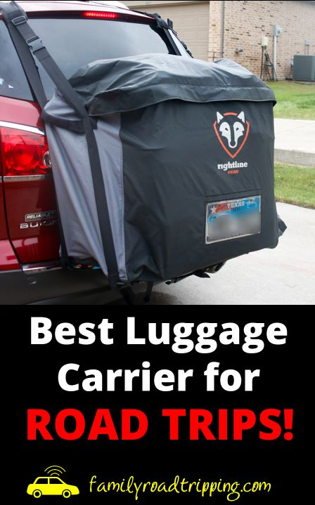Best Car Luggage Carrier - Rightline Gear Saddlebag