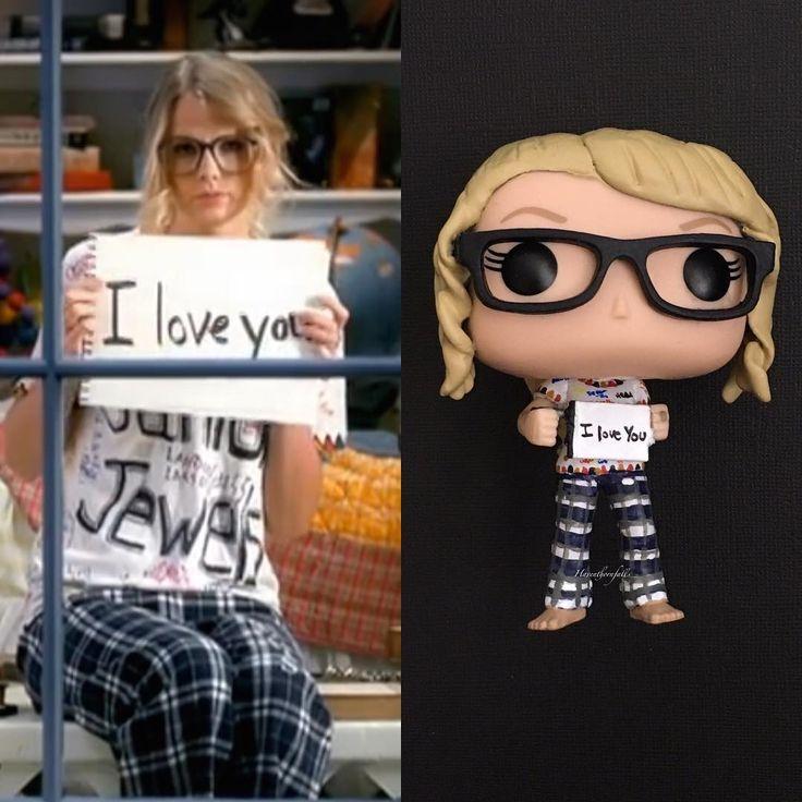 "213 To se mi líbí, 5 komentářů – ~ Melinda ~ (@haventhornfalls) na Instagramu: ""Another completed commission for 2018 Pop! Rocks - Taylor Swift - You Belong With Me. …"""