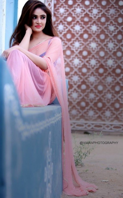 Actress Sony Charista Latest Photoshoot Gallery in Saree CelebsNext 0005