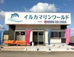 イルカマリンワールド店舗が二つありますが こちらのお店はお食事処となってます イルカウォッチングへお越しのお客様ご来店お待ちしておりますねヽ(o)  #イルカウォッチング #イルカ #お食事処マリン #ドルフィン tags[熊本県]