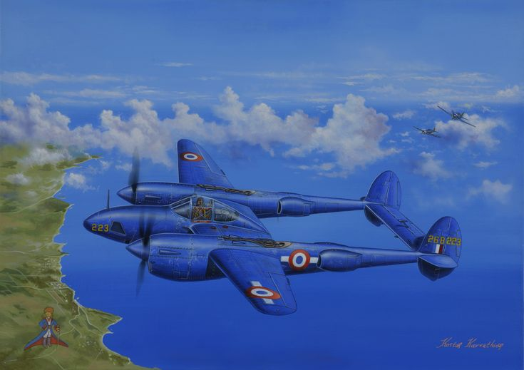 Luc Vanrell: The story behind the discovery of Antoine de Saint-Exupéry\'s P-38 \