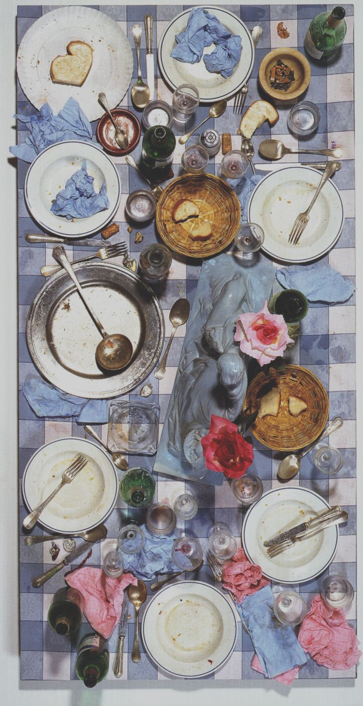 #Art and Daily #Waste. Spoerri - Série Seville N°27 (tableau piège) - 1962