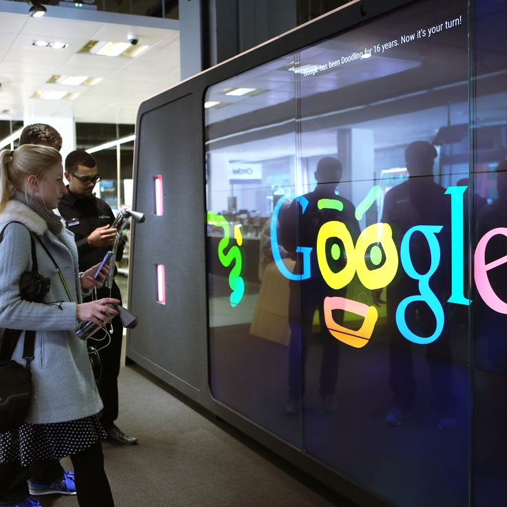 In collaboration with the awesome team deeplocal we created doodle walls across google shops in london the interactive wall lets guests create their own