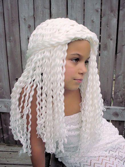 yarn crochet wigs