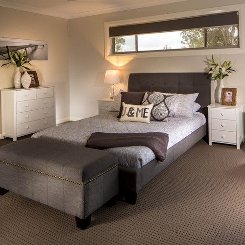 Chantelle Queen Bed Grey - Products - 1825 interiors