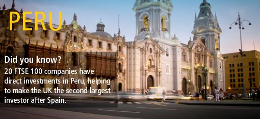 Will you follow many other UK businesses leads and invest in Peru?