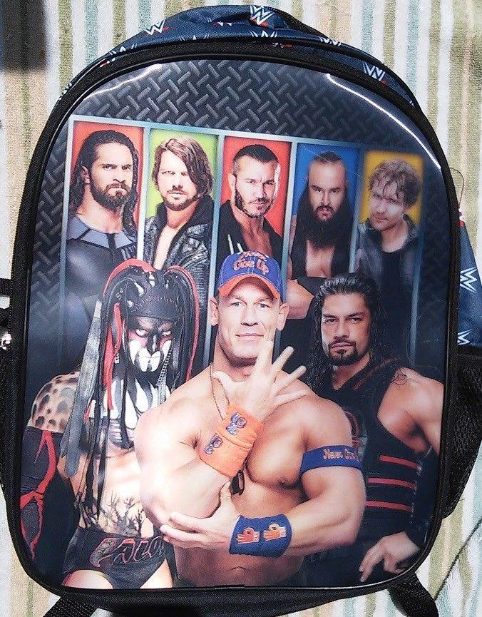 WWE Wrestling JOHN CENA LUNCH Bag Finn Balor Roman Reigns Seth Rollins