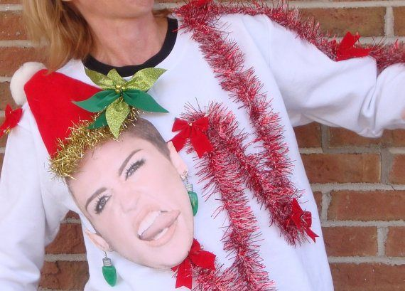 Christmas jumpers Miley!