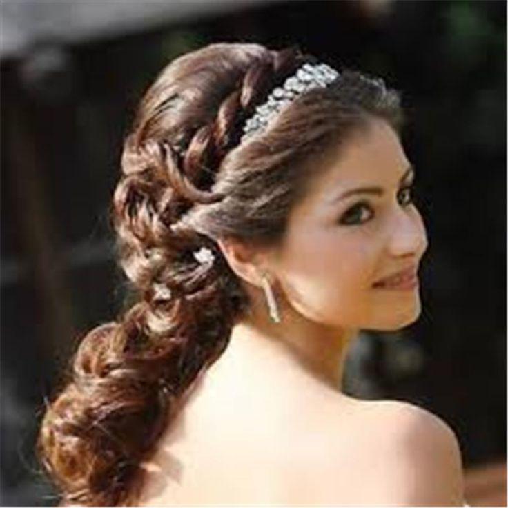 2016 Düğün Saç Modelleri - http://www.gelinlikvitrini.com/2016-dugun-sac-modelleri/