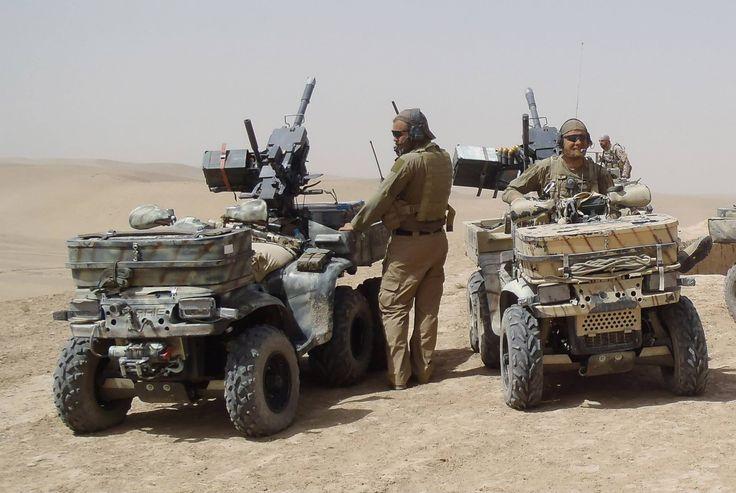 Norwegian army ATVs
