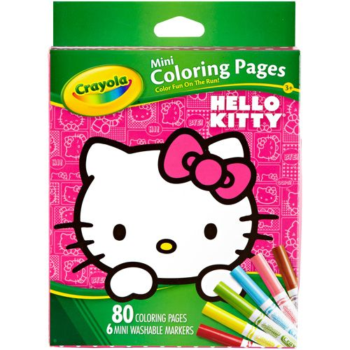 Love that I got 15% off Mini Coloring Pages - Hello Kitty from Crayola Store for $5.99.