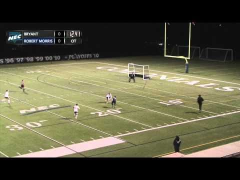 FIELD HOCKEY RMU vs BRYANT HIGHLIGHTS - 10/25/2013