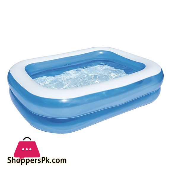 Buy Bestway Inflatable Rectangular Hogo Pool 6 5 Feet 54005 At Best Price In Pakistan Bestway Big Swimming Pools Rectangular Pool