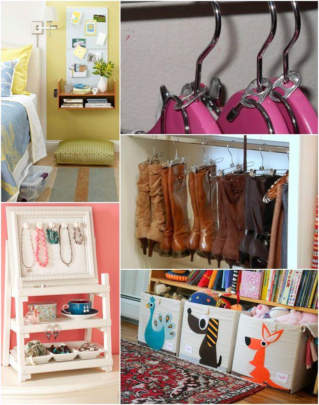 Dicas de organiza o para quartos pequenos dicas de for Organizadores para closet