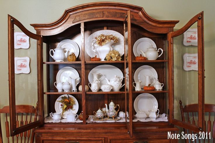 1000 ideas about china cabinet decor on pinterest