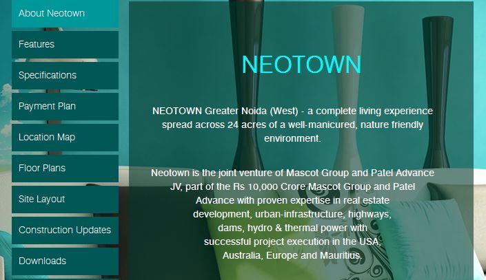 Patel Realty NEO TOWN Noida Extension  #neotown #patelneotown #mascotpatelgroup