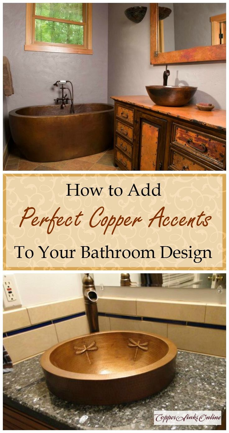 Best Copper Vessel Bath Sinks Images Oncopper