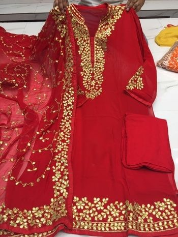 Check out this post - #gottapatti #rajasthan #handwork #gotawork #dupatta created by Riya Sharma and top similar posts, trendy products and pictures by celebrities and other users on Roposo.