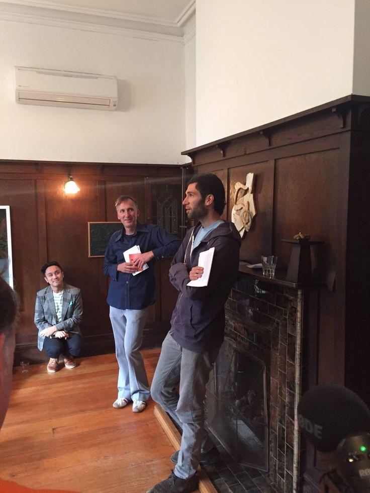 "Vic Books on Twitter: ""Lee Posna takes the floor @ The Young #litcrawlwellington https://t.co/UEuNY5Owgk"""