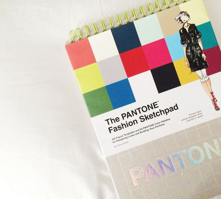 My PANTONE Fashion Sketchpad