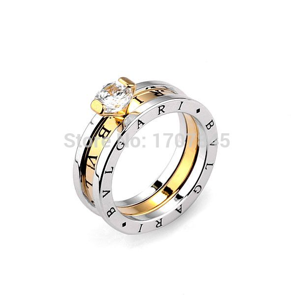 Aliexpress.com : Buy Fashion women brand classic 18k gold plated 2 in 1 rings 316L stainless steel rings from Reliable women gold jewelry suppliers on ZIKK Brand Jewelry wholesale | Alibaba Group