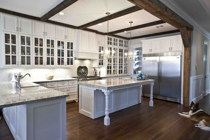 French Country Farmhouse Kitchen | Thanks so much for having me on home tour series Debbie!! It's such ...