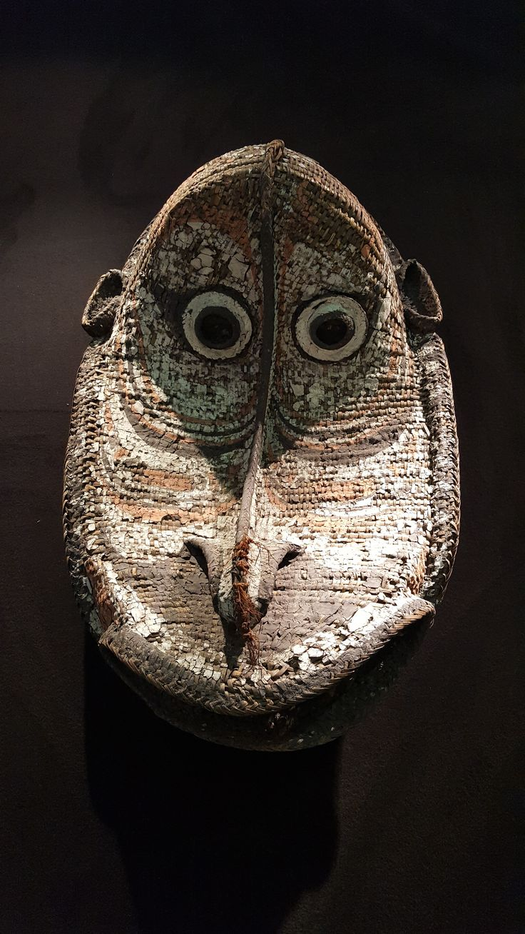 ArtAncient - B15 - Ceremonial Mask from Papa New Guinea