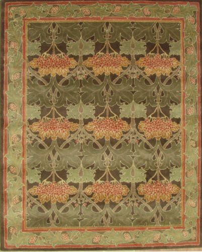 New-Pottery-Barn-Cecil-Green-8-x-10-Handmade-Persian-Style ...