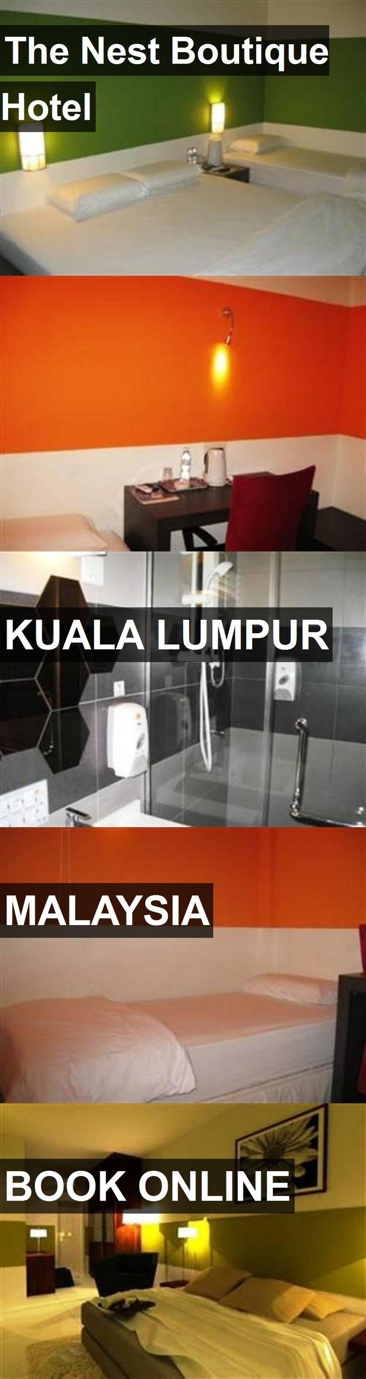 The Nest Boutique Hotel in Kuala Lumpur, Malaysia. For more information, photos, reviews and best prices please follow the link. #Malaysia #KualaLumpur #travel #vacation #hotel