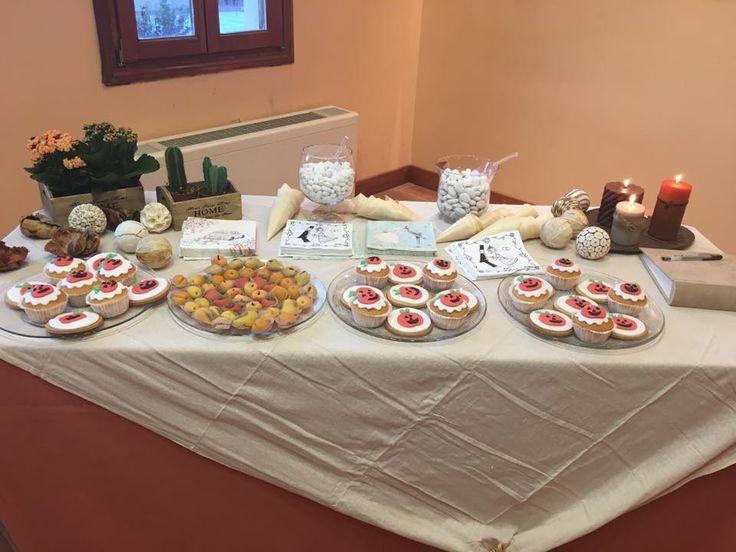 Fall halloween wedding sweets