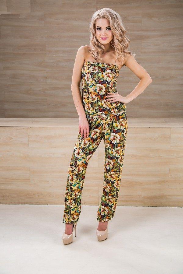 Женские брюки : Женские летние брюки Vishnya 10-031