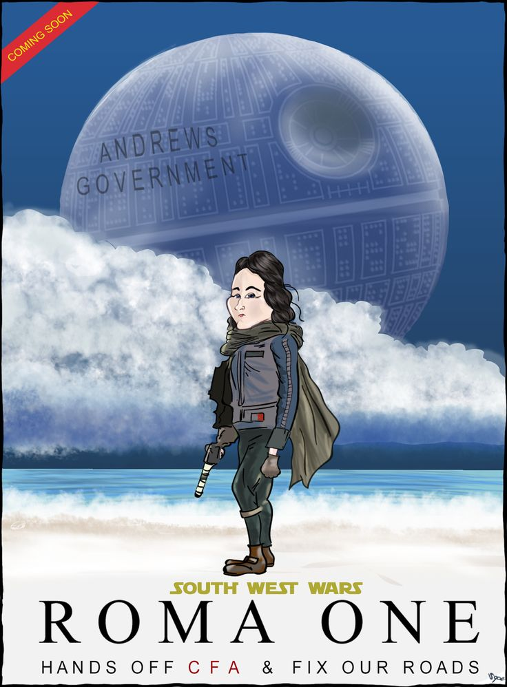 With apologies to upcoming Star Wars movie, Rogue One.   South West (Victoria) state MP, Roma Britnell was ejected from parliament twice this year after speaking up against proposed CFA changes by the Andrews Government ... Country roads are also a galaxy far far away for state government investment!