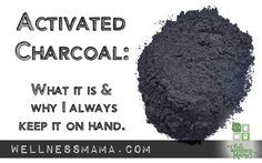 Activated charcoal is well known as a antidote as it adsorbs most organic toxins, chemicals and poisons before they can harm the body. Some Emergency Rooms administer large doses of activated charcoal for certain types of poisoning ...