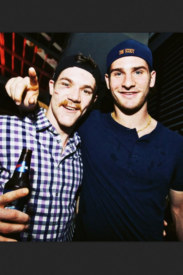 Brandon Saad and Andrew Shaw. Tons of respect for Shaw & love Saad!