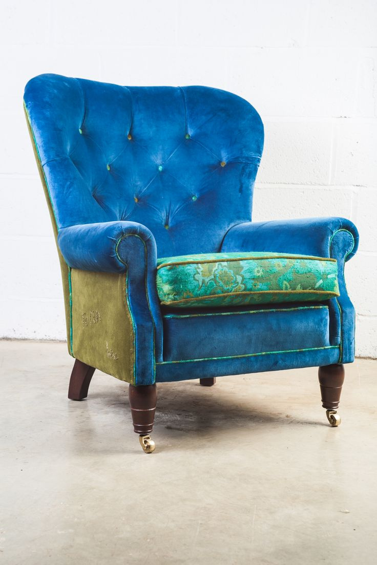 Best 25+ Blue velvet chairs ideas on Pinterest | Blue ...