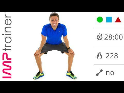 GAG Con Esercizi per Dimagrire e Tonificare Gambe, Addominali e Glutei Senza Salti - YouTube