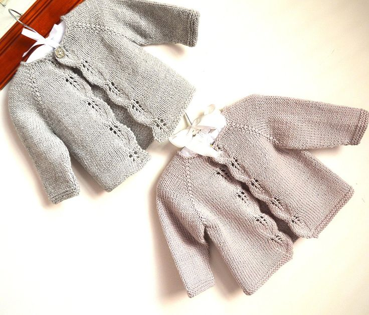 A classic design, simple leaf pattern adorns the front borders, knit in one piece seamlessly from the top down. This little cardi is sure to become your go-to knit for babies. Would be perfect for baby to wear on cool summer nights and sunny autumn days. Pattern comes with a schematic and chart . We have graded this pattern as suitable for the intermediate knitter.
