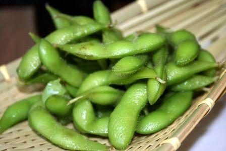 枝豆(えだまめ)Green soybeans