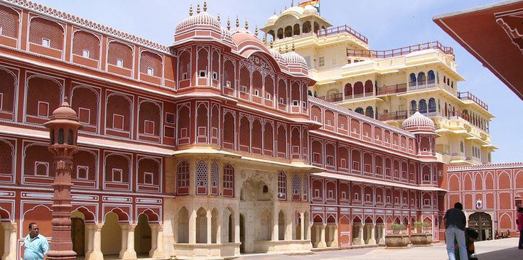 City Palace, Jaipur, which includes the Chandra Mahal and Mubarak Mahal palaces and other buildings, is a palace complex in Jaipur, the capital of the Rajasthan state, India