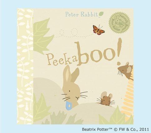 peter rabbit peek a boo book