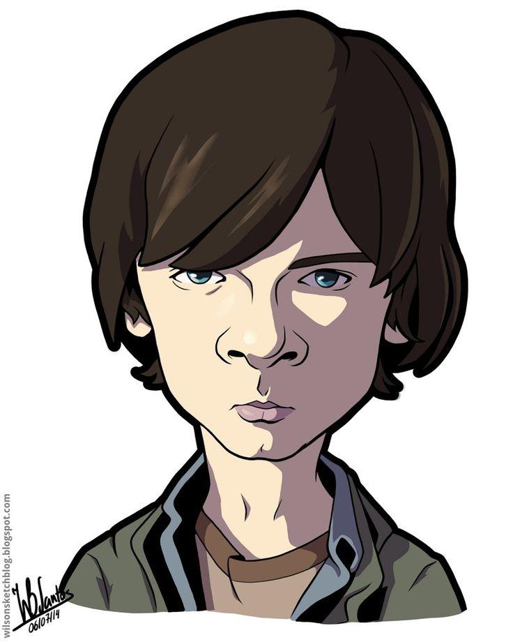ArtStation - The Walking Dead - Carl, Wilson Santos