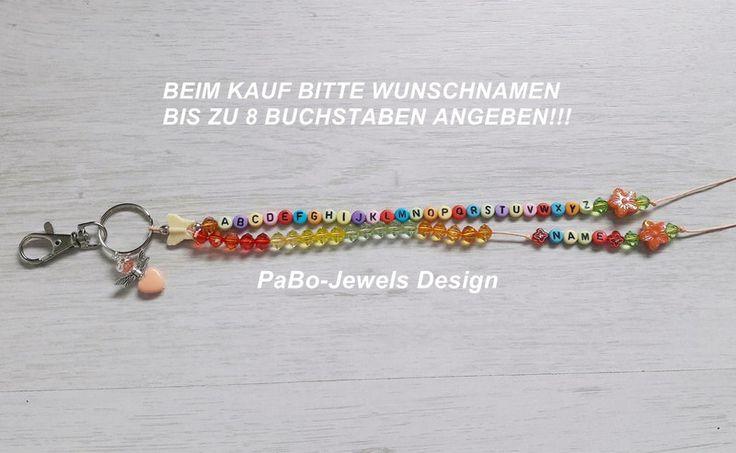 Schlüsselanhänger - ELFEN ABC/RECHENKETTE LERNHILFE MIT NAMEN - ein Designerstück von PaBo-Jewels bei DaWanda