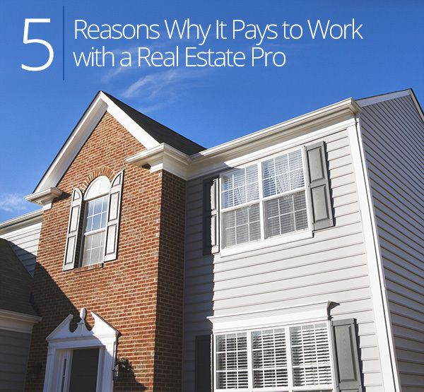 Investing in #Property? Five Reasons Why You Need to Use a #RealEstate Pro. #househunting #home
