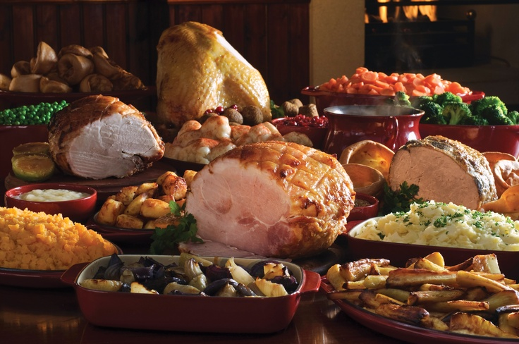 Our famous carvery selection.